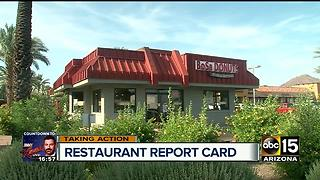 Restaurant Report Card: 16 Valley restaurants fail health inspection in May - Video