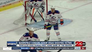 Condors Home Opener Recap - Video