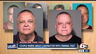 CALL 6: Elderly couple warns of contractor felon - Video