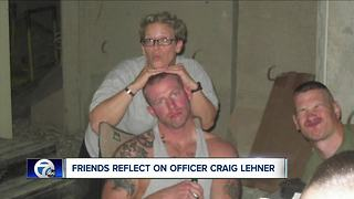 Friends remember Officer Craig Lehner - Video