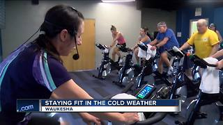 Staying fit in the cold weather - Video