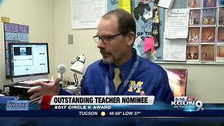 Marana High School music teacher finalist for teacher of the year - Video