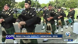 Palm Beach County Sheriff's Office honors deputies who died in the line of duty