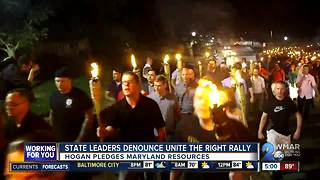 State leaders reject 'Unite the Right' rally in Washington - Video