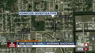 One killed in shooting Fort Myers - Video