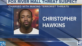 Man accused of threating mall in Court - Video