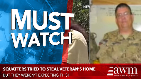 Squatters Steal Soldier's Home, Then His Brothers In Uniform Show Up To Serve Up Justice
