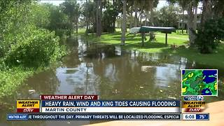 Martin County warns of flooding threats during rain, high tides - Video