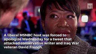After Public Shaming by Fans, MSNBC Host Forced to Apologize for Attack on Iraq War Vet - Video