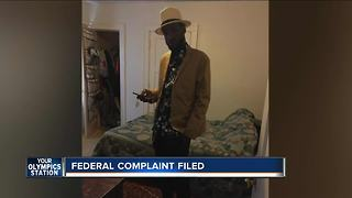 Family of man killed by police files federal complaint against officers - Video
