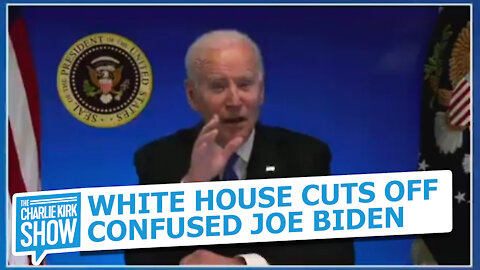 White House Cuts Off Confused Joe Biden