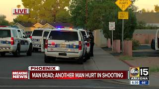 Investigation underway after man shot and killed near 15th Avenue and Osborn - Video