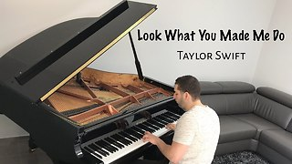 Taylor Swift - Look What You Made Me Do (piano cover) - Naor Yadid - Video