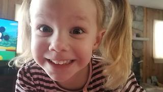 """2 year old having trouble with the word """"witch""""  - Video"""