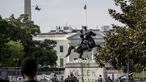 Four Charged With Attempting To Remove Andrew Jackson Statue in DC