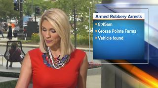 Suspects arrested for armed robbery in Grosse Pointe Farms