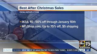 Best after Christmas sales - Video