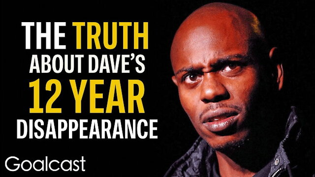 Why Dave Chappelle Walked Away From $50 Million Dollars -- Life Stories By Goalcast