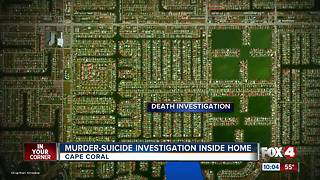 Murder-Suicide Investigation Inside Home - Video