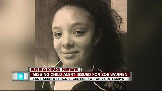Tampa Police search for 15-year-old girl last seen Monday morning - Video