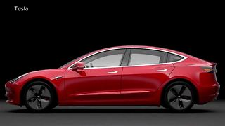 Exclusive look at new Tesla Model 3 - Video
