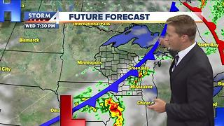 Brian Niznansky's Wednesday afternoon Storm Team 4cast - Video