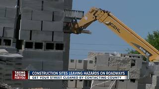 Growing construction brings road debris and hazards to Tampa Bay drivers - Video