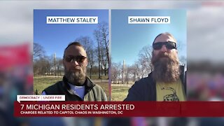 Two Michigan men arrested after U.S. Capitol riots share their story with 7 Action News