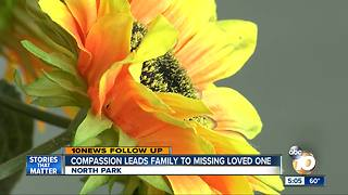 Compassion leads family to missing loved one - Video