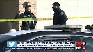Husband arrested on murder charge after wife found killed in home
