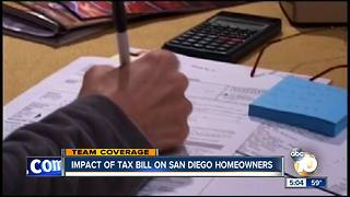 Impact of GOP tax bill on San Diego homeowners - Video