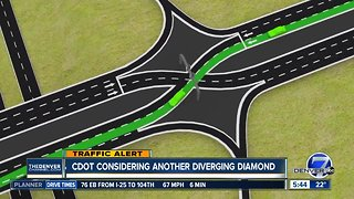 CDOT considering another diverging diamond