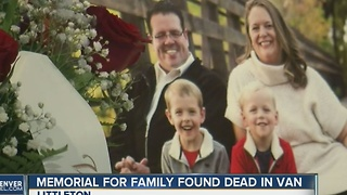 Services held for family dead in murder-suicide - Video
