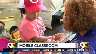 Mobile classroom brings fun, learning to kids over summer vacation - Video