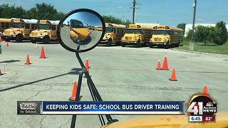 Keeping kids safe: School bus driver training - Video