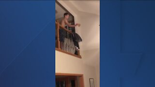 Home highlights: 15-year-old Henry tosses waffle into toaster from upstairs