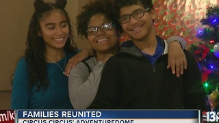 Siblings separated in foster care brought together for holiday reunion - Video