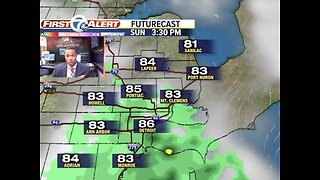 Showers and storms possible