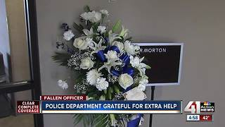 Funeral services arranged for Clinton Ofc. Ryan Morton - Video