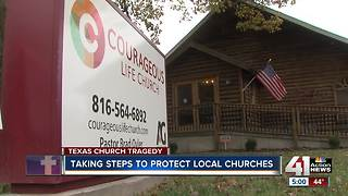 Examining church security after deadly Texas shooting - Video