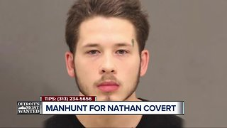 Detroit's Most Wanted: Nathaniel Covert wanted for shooting in Pontiac