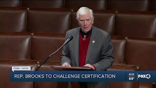 Rep. Brooks plans to challenge election certification