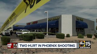 Man, woman rushed to hospital after being shot inside Valley Phoenix