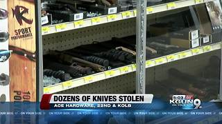 Popular hardware store is robbed - Video