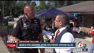 Southport police officer thought he was responding to a routine crash, instead he was shot to death - Video