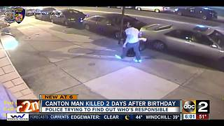 Police still looking for suspects in bartender's murder in Canton - Video