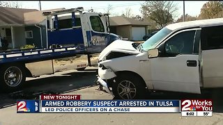 Suspect arrested after leading TPD on pursuit