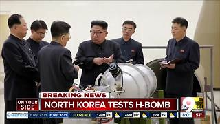 North Korea says it just tested a hydrogen bomb, its most powerful nuclear weapon yet - Video