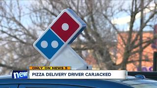 Pizza delivery driver carjacked at gunpoint on west side: 'I just got numb' - Video