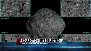 UArizona scientists' plan to collect the first sample from an asteroid finds its target